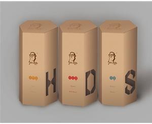 六边形蜂蜜纸盒